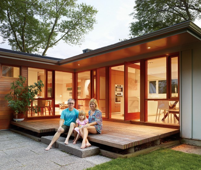 1950s Bungalow Gets A Flat-Out Modern Facelift