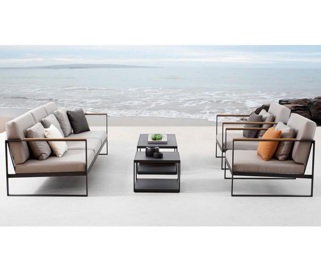 Jardin de ville outdoor furniture for Sofa exterior jardin