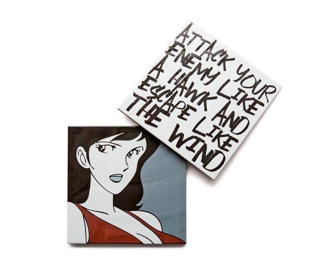 Lupin Ceramic Comic 8