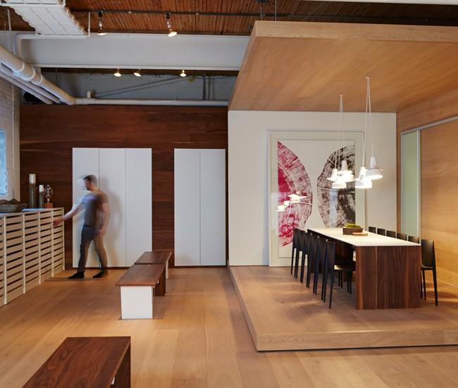 Moncer Toronto European Made Wood Flooring Showroom