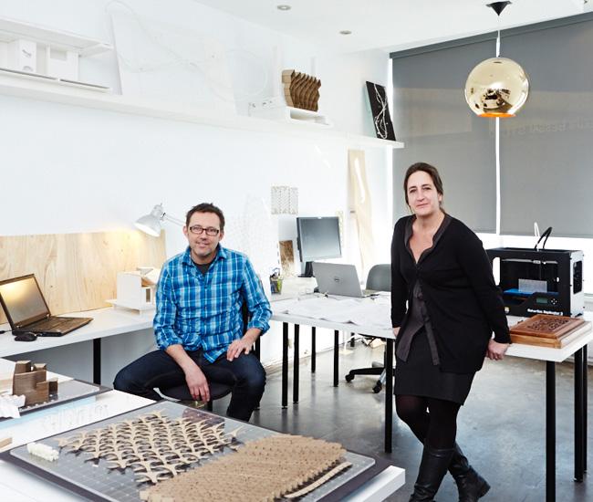 Maria Denegri and Tom Bessai. Photo by Naomi Finlay.