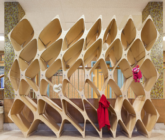 Birch cubbies