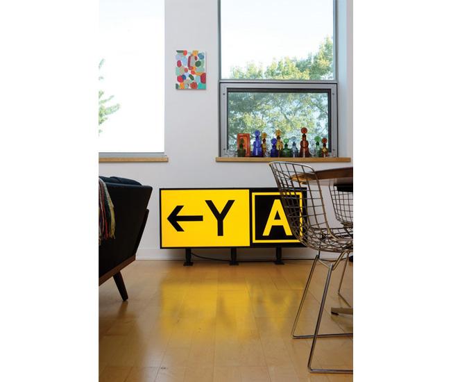 YA lightbox by Toronto artist-architect An Te Liu.