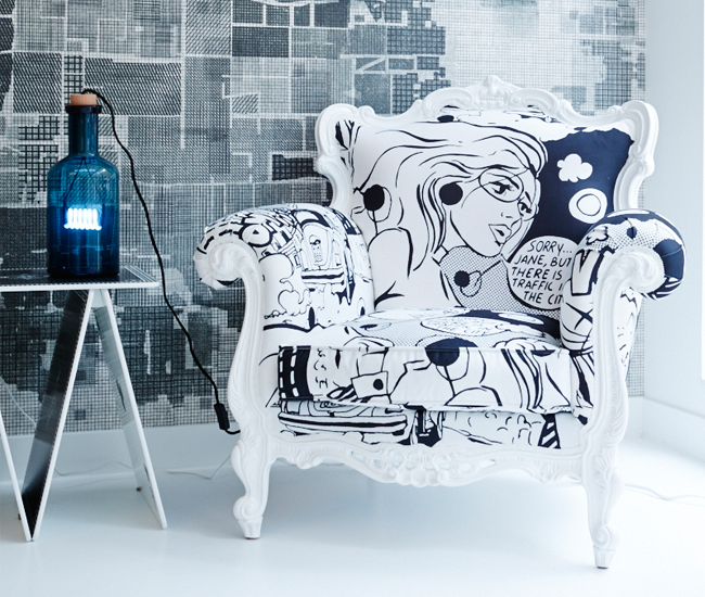 RADForm specializes in contemporary furniture with whimsical flourishes.