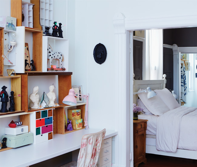 5 Use colour to set the room apart from nearby spaces. Photo by Naomi Finlay.