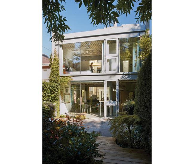 Yorkville Home Design Center: A Yorkville Home Designed By Barton Myers
