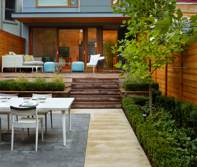Design Ideas From Toronto's Best Backyards Simple Backyards By Design
