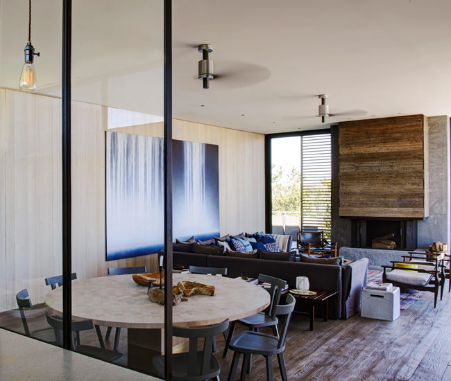 George and Glennu0027s house in the H&tons. & Qu0026A: Yabu Pushelberg on 35 Years of Beautiful Interiors