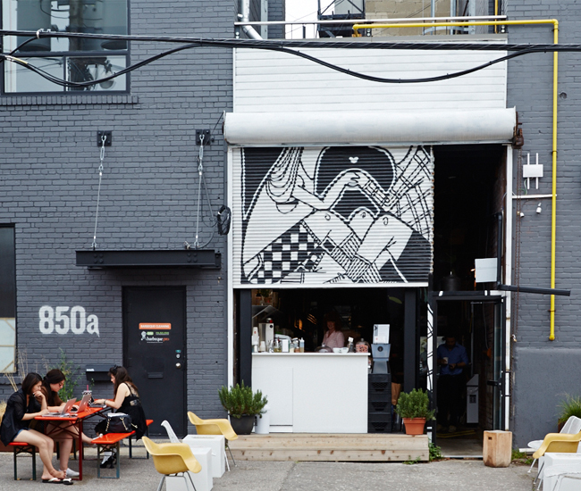 Tokyo Smoke Toronto Coffee And Gift Shop