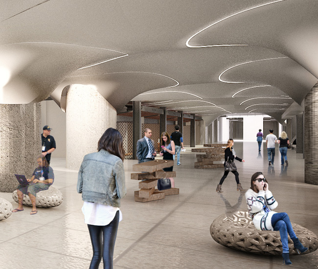 Partisans will oversee the design of much of the concourse space in the renovation of Toronto's Union Station.