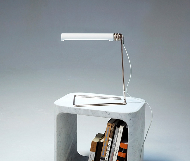 Castor's Coil Lamp – which is powered by an outmoded Apple laptop charger – won the 2014 AZ Awards Best Lighting Design.