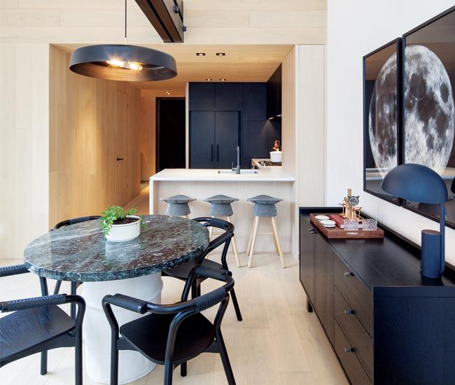 Mason Studio Composes A Cabin-Style Condo Model Suite