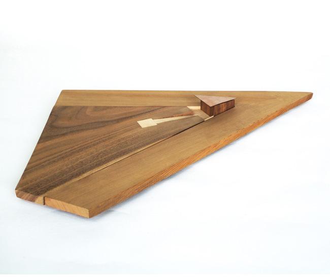 A study model of a cedar helipad built in Ontario.