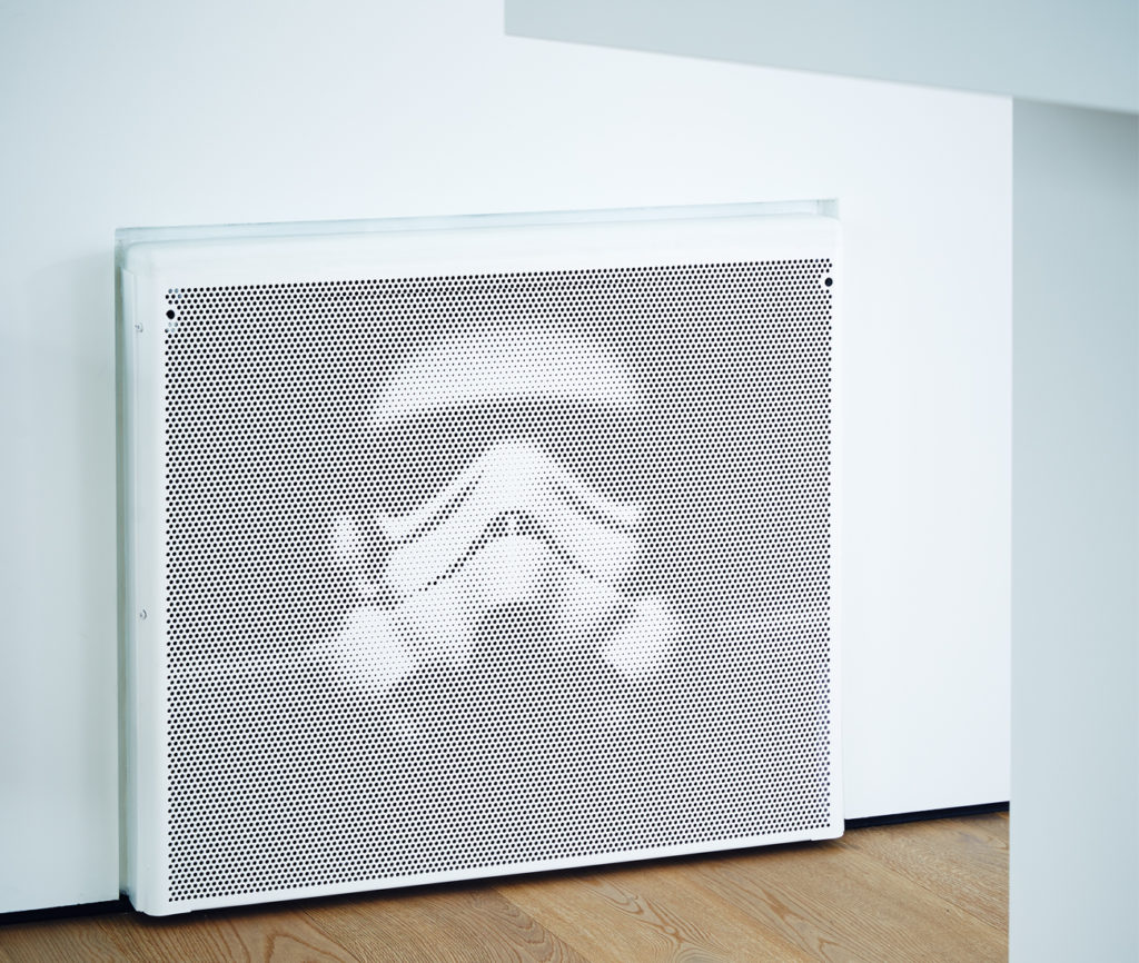 Stormtrooper radiator cover made by MCM. Photo by Michael Graydon.
