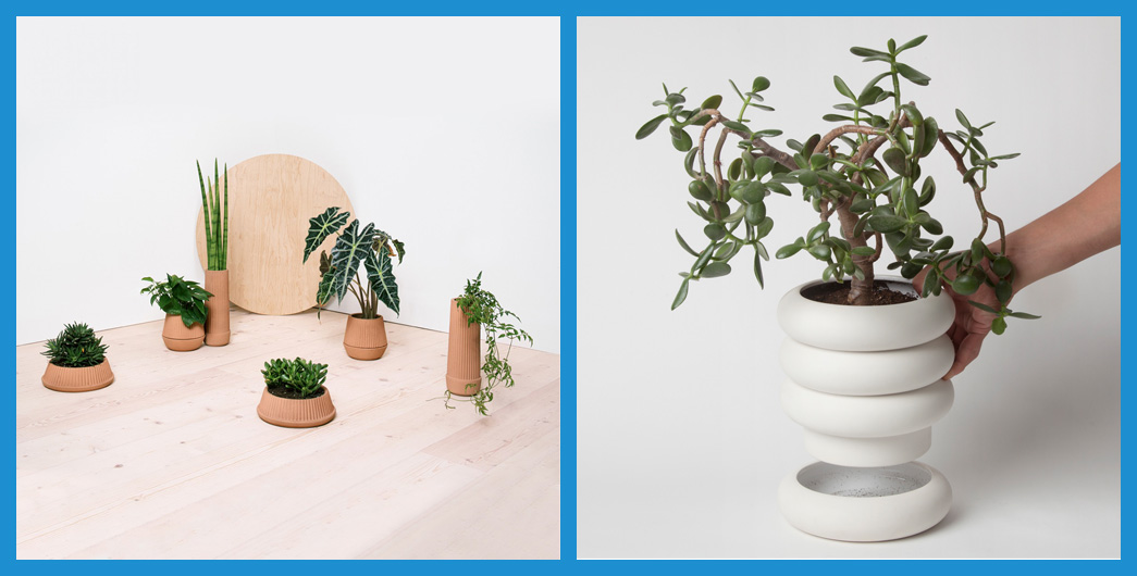 Planters For Big City Green Thumbs