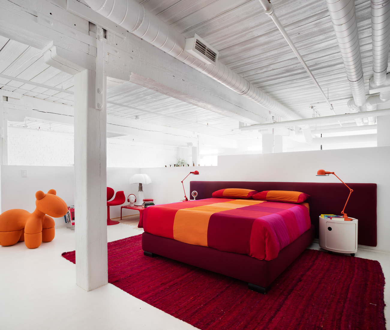 When Interior Designer And Architect Stephane Chamard Discovered A Unit  Available In The Candy Factory U2013 A Warehouse Turned Condo Building His  Husband Had ...