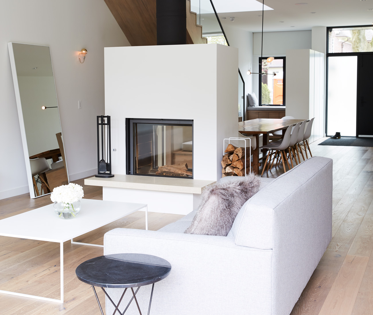 Accustomed To Airy Loft Living The Young Family Who Built This 5 Bedroom Home In Leaside Were Reluctant Throw Up Walls Between Es