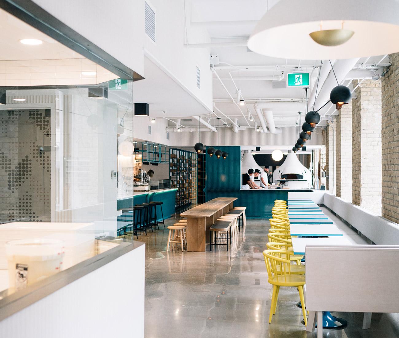 General Assembly Pizza Toronto Design Restaurant