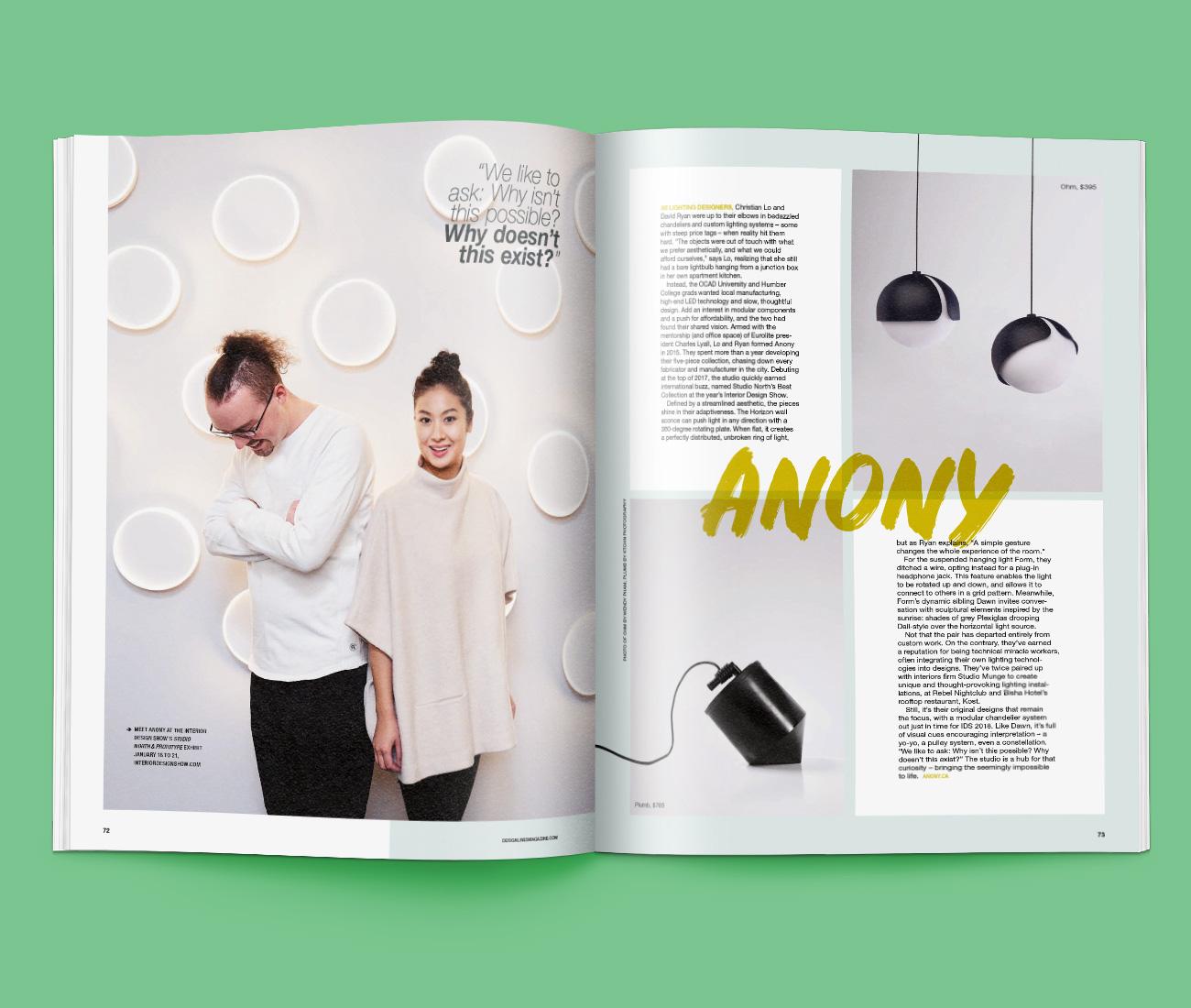 Anony Lighting Designers This Creative City Designlines Toronto