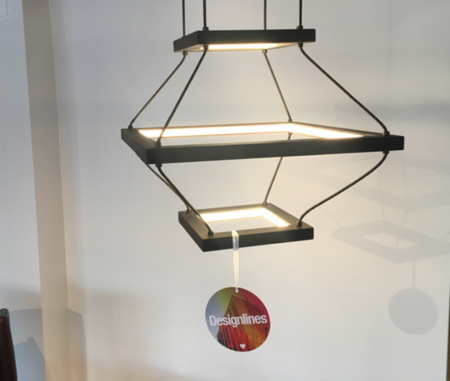 Lantern. Part of Hollis+Morris' new collection of beautifully conceived lights, we loved this stripped-back take on the traditional paper lantern. Here, there is no lightbulb at the heart of the lamp. Instead, the frame is the light source. Ingenious, no? (hollis+morris, 501 Alliance Ave.)