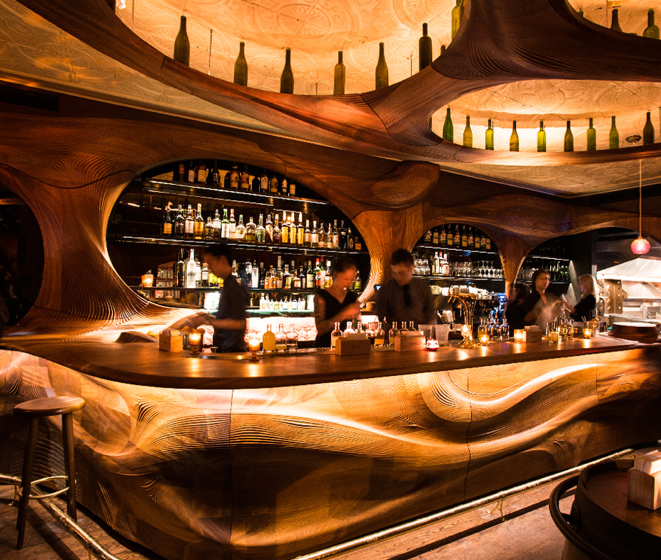 Partisans Architecture Firm Toronto Bar Raval