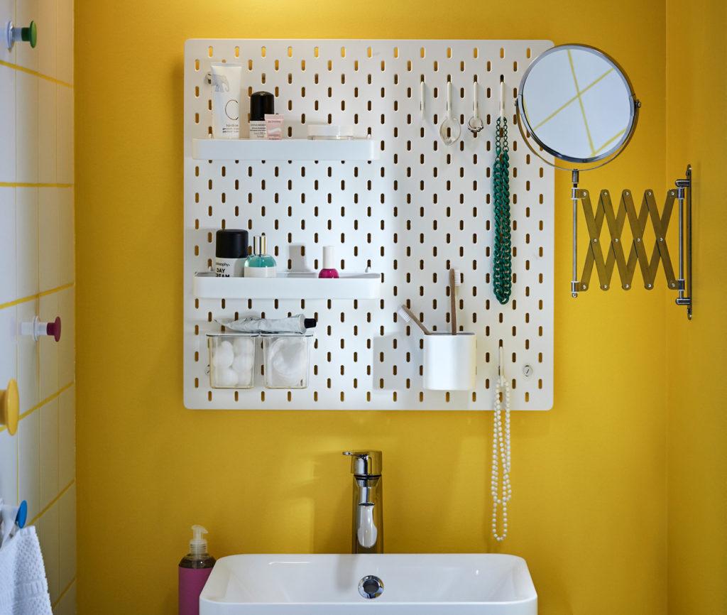 skadis is ikea 39 s real life pinterest board. Black Bedroom Furniture Sets. Home Design Ideas
