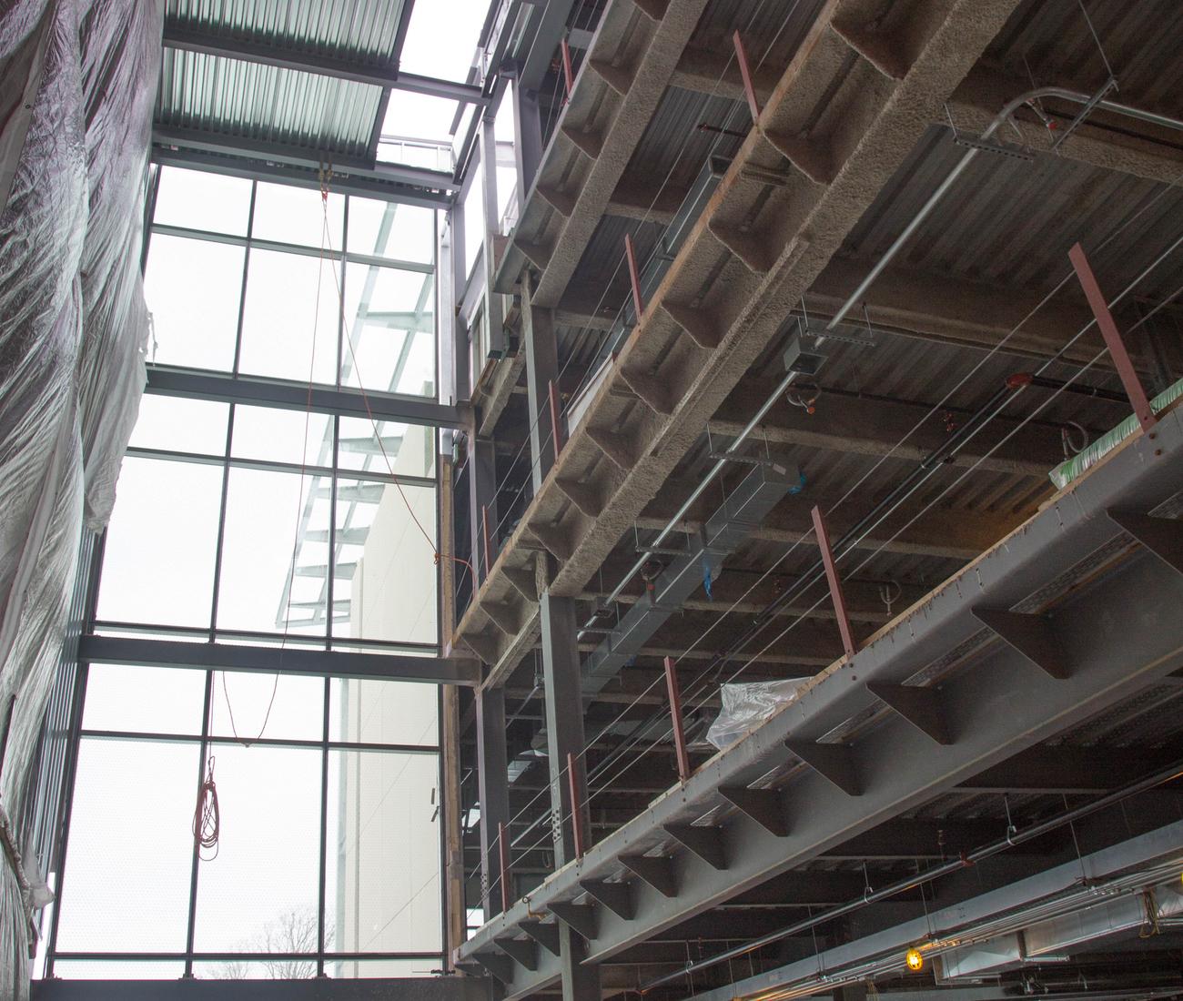 The atrium at Mohawk College's Joyce Centre in Hamilton