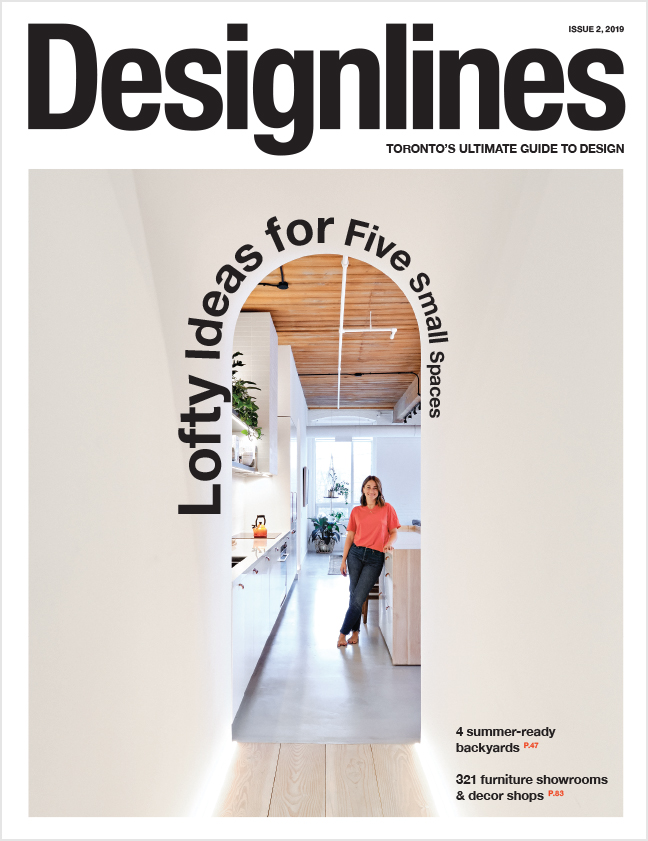 Designlines Small Spaces Issue, Summer 2019 - Cover